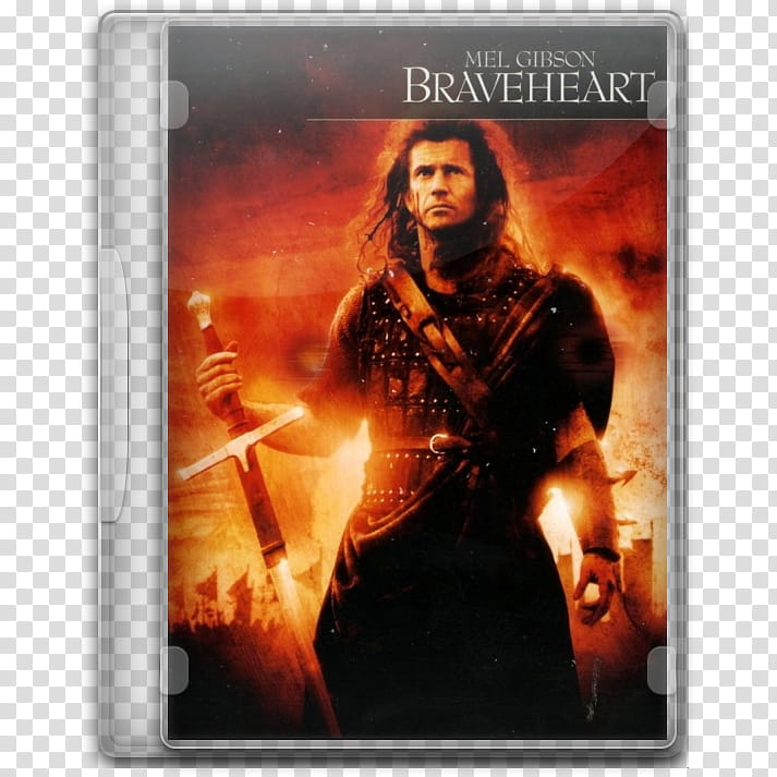 Movie Icon , Braveheart transparent background PNG clipart.