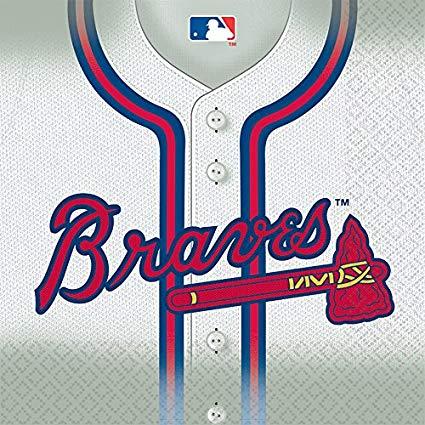 Amazon.com: Amscan Atlanta Braves Major League Baseball Collection.