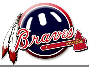 Braves Baseball Clipart.