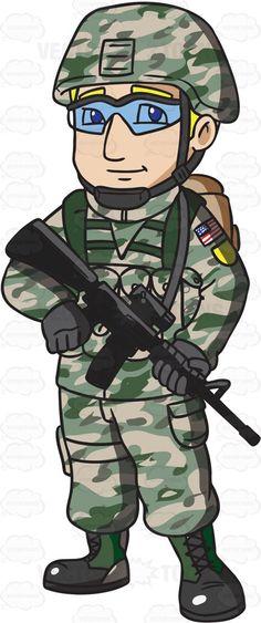 Brave clipart soldier singapore, Brave soldier singapore.
