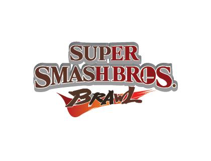 Super Smash Bros. Brawl Logo Vectors.
