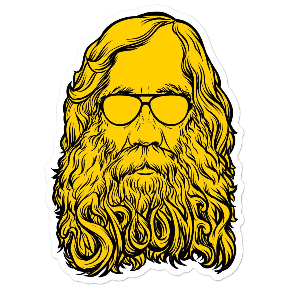 Lysander Spooner Too Cool For Rules Sticker.