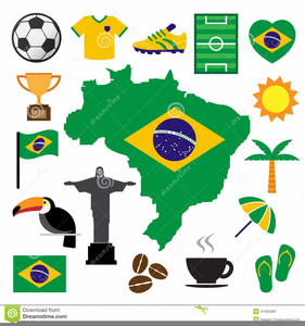 Brazil Map Clipart Free.