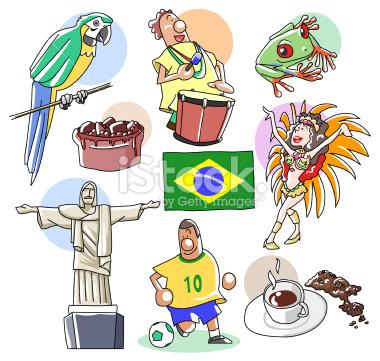 Brazil Clip Art Page 1.