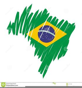 Flag Brazil Clipart.