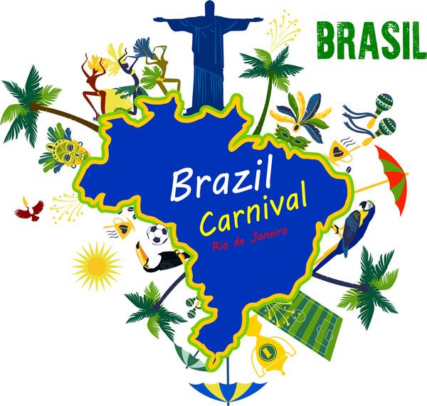 Brazil Carnival Clipart.