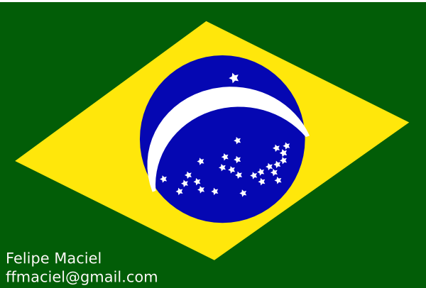 Flag Brazil Crystal Clip Art at Clker.com.