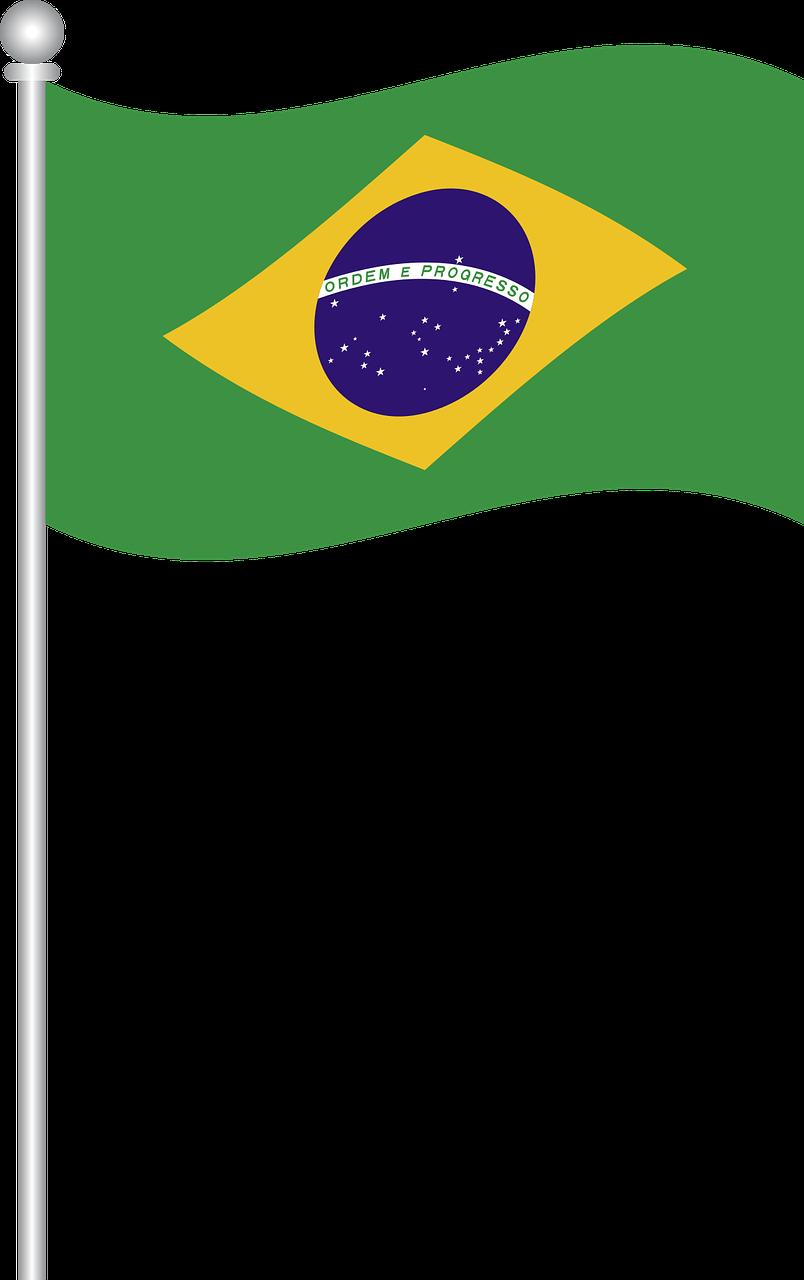 Brazil Flag clipart.