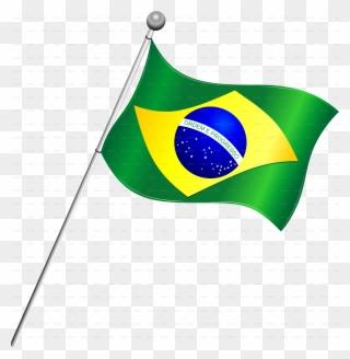Free PNG Brazil Flag Clip Art Download.