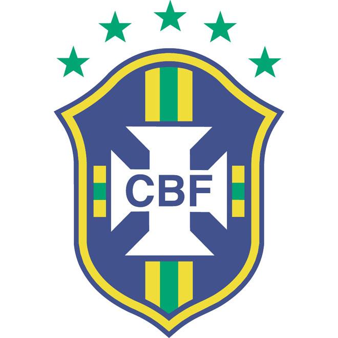 Brazilian football confederation vector logo.