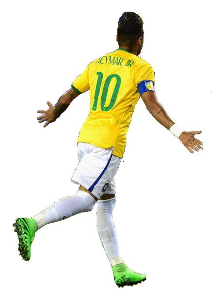 Neymar Jr 10 Brazil Png.