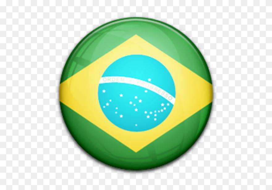 Brazil Flag Clipart Transparent.