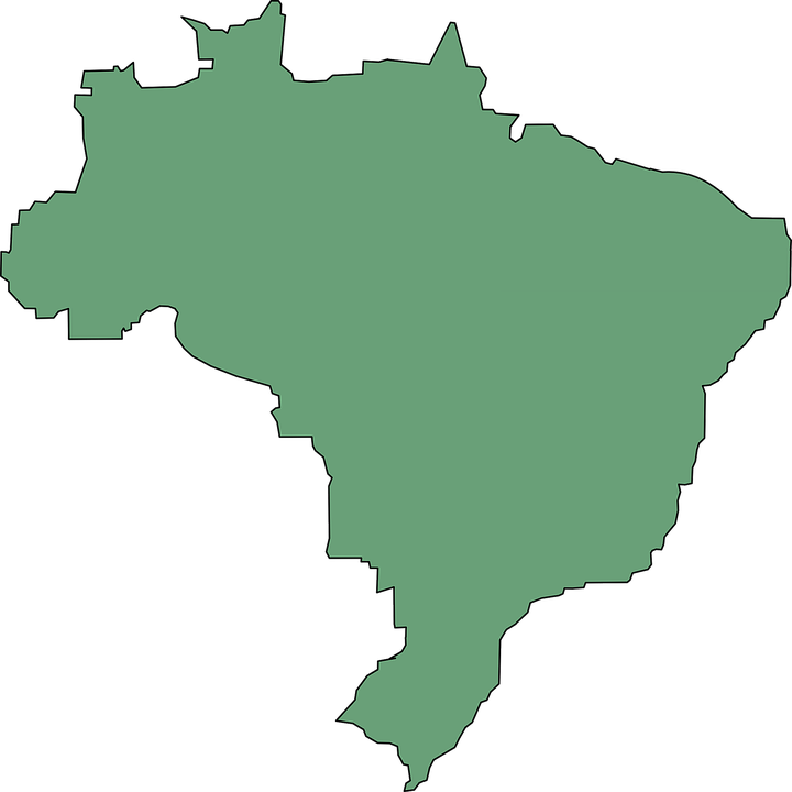 Brazil Map Png & Free Brazil Map.png Transparent Images #21123.