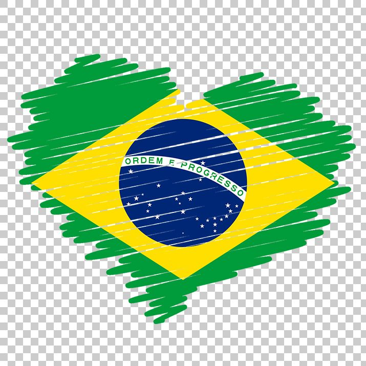 Brazil Heart Flag PNG Image Free Download searchpng.com.