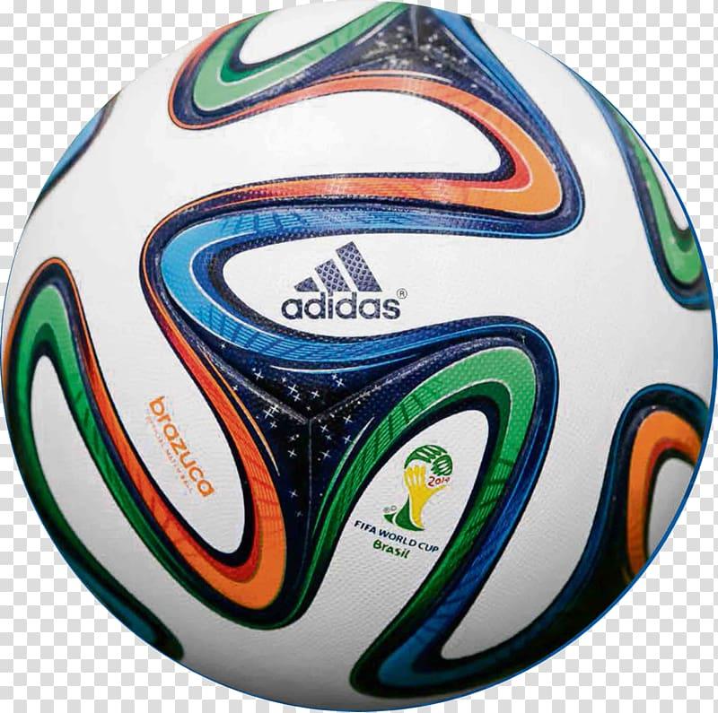 FIFA World Cup Final Adidas Brazuca Ball, ball transparent.