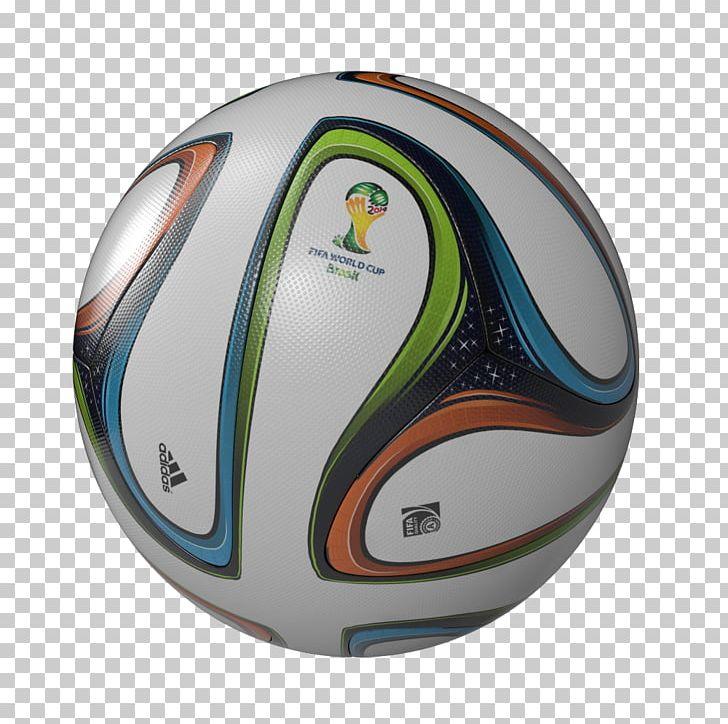 2014 FIFA World Cup Football Adidas Brazuca Brazil PNG.