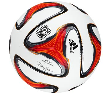 MLS will be world's first league to kick the Brazuca.