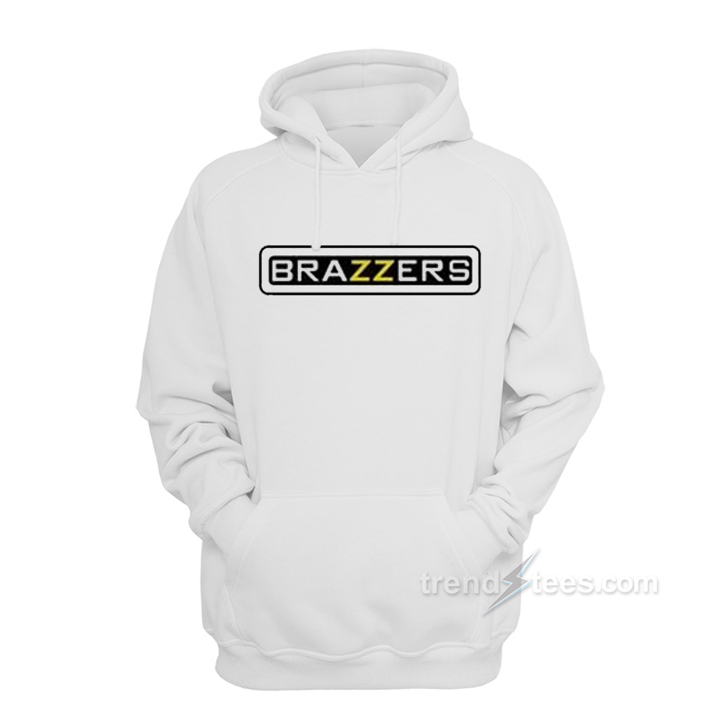 Brazzers logo Hoodies.