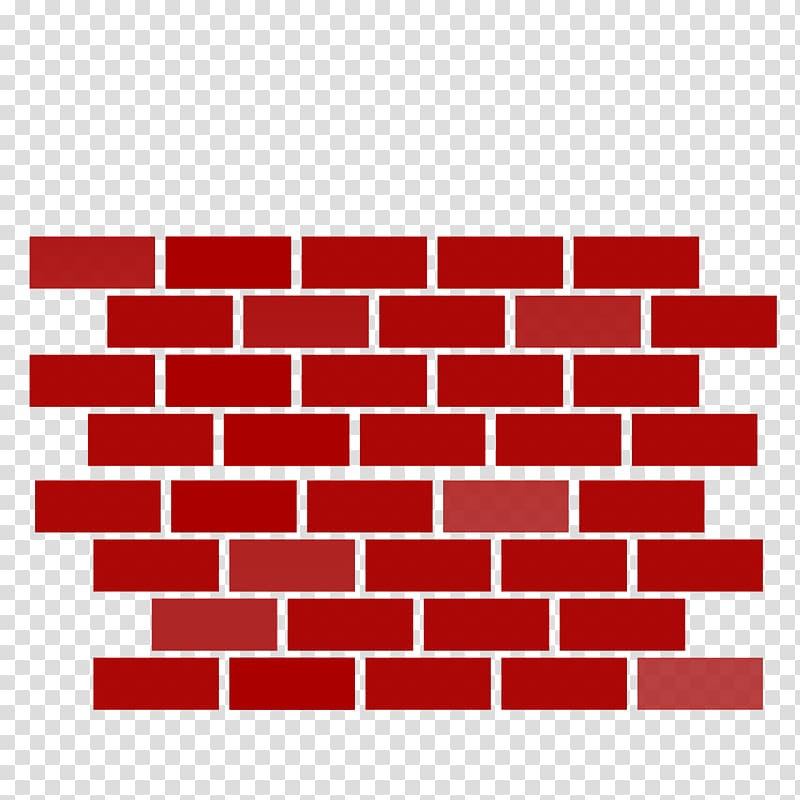 Brickwork Wall , Red brick wall transparent background PNG.