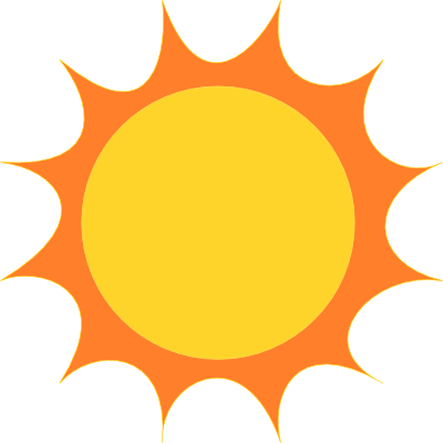 The Sun Clipart.