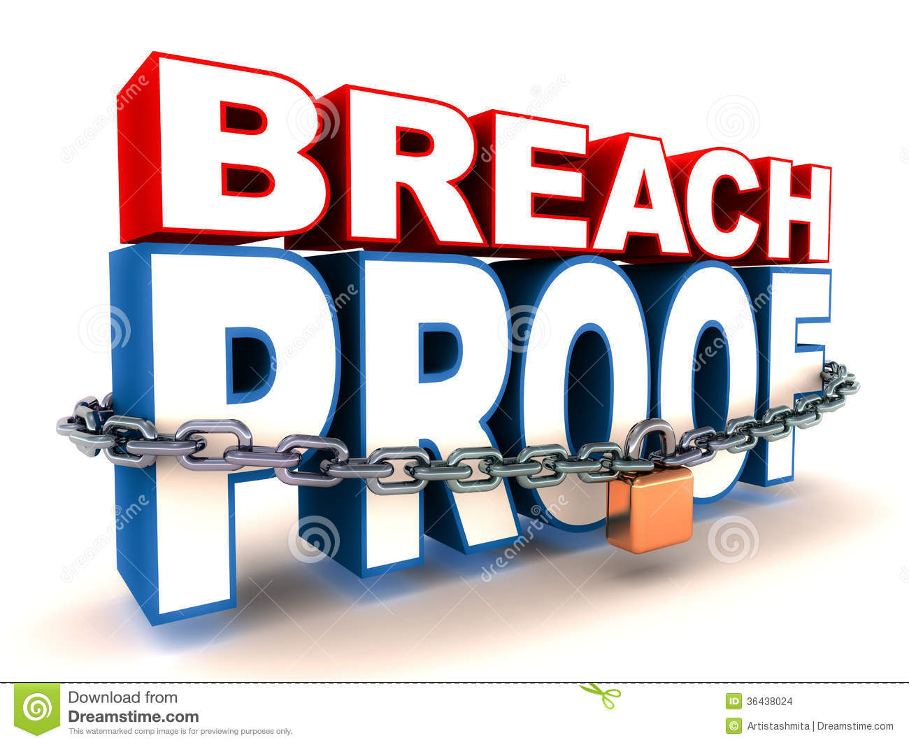 Breach Proof Stock Images.