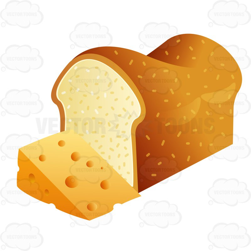 Bread and cheese clipart 3 » Clipart Station.