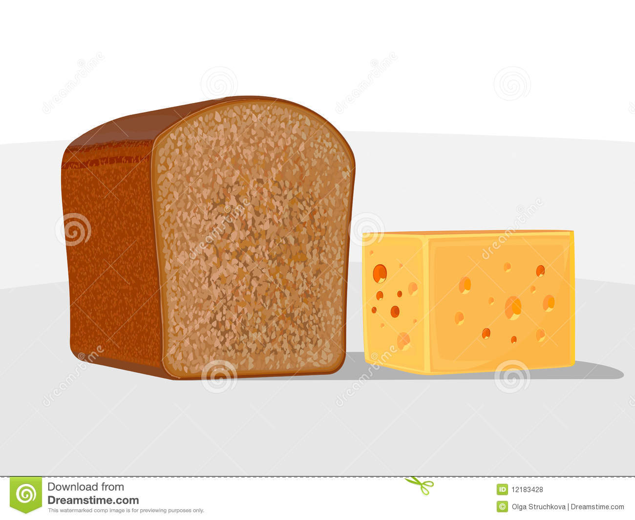 Bread and cheese clipart 7 » Clipart Station.