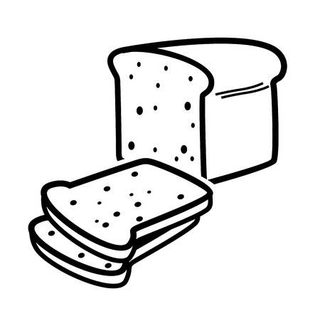 Bread Clipart Black And White (88+ images in Collection) Page 2.