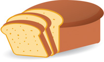 Loaf of bread clip art clipart image 4 2.