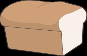Loaf of bread clip art.