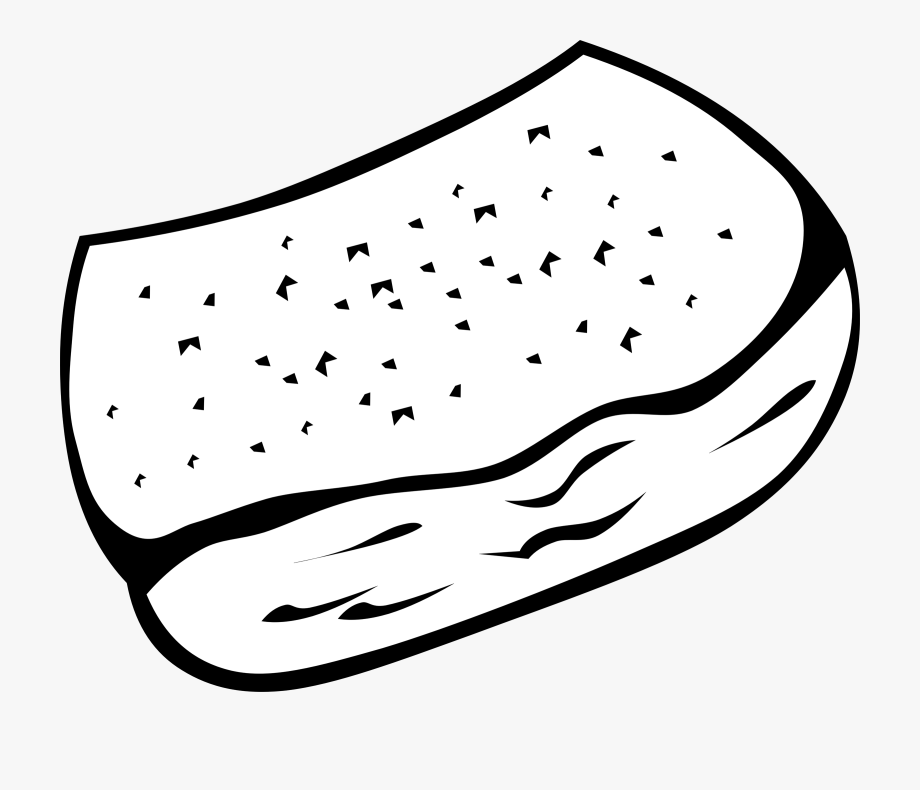 Toast Vector Bread Loaf.