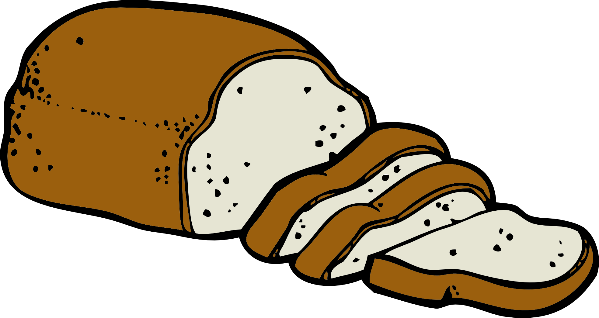 Bread clipart free images 5.