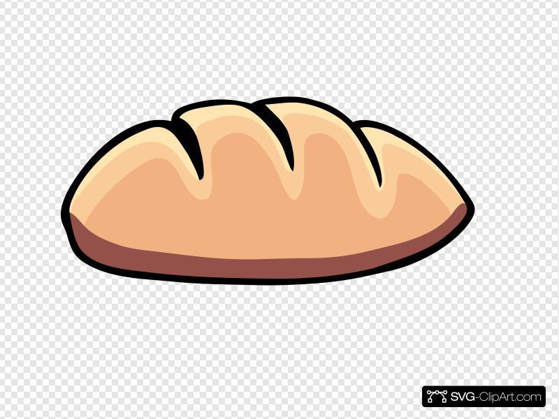 Bread Clip art, Icon and SVG.