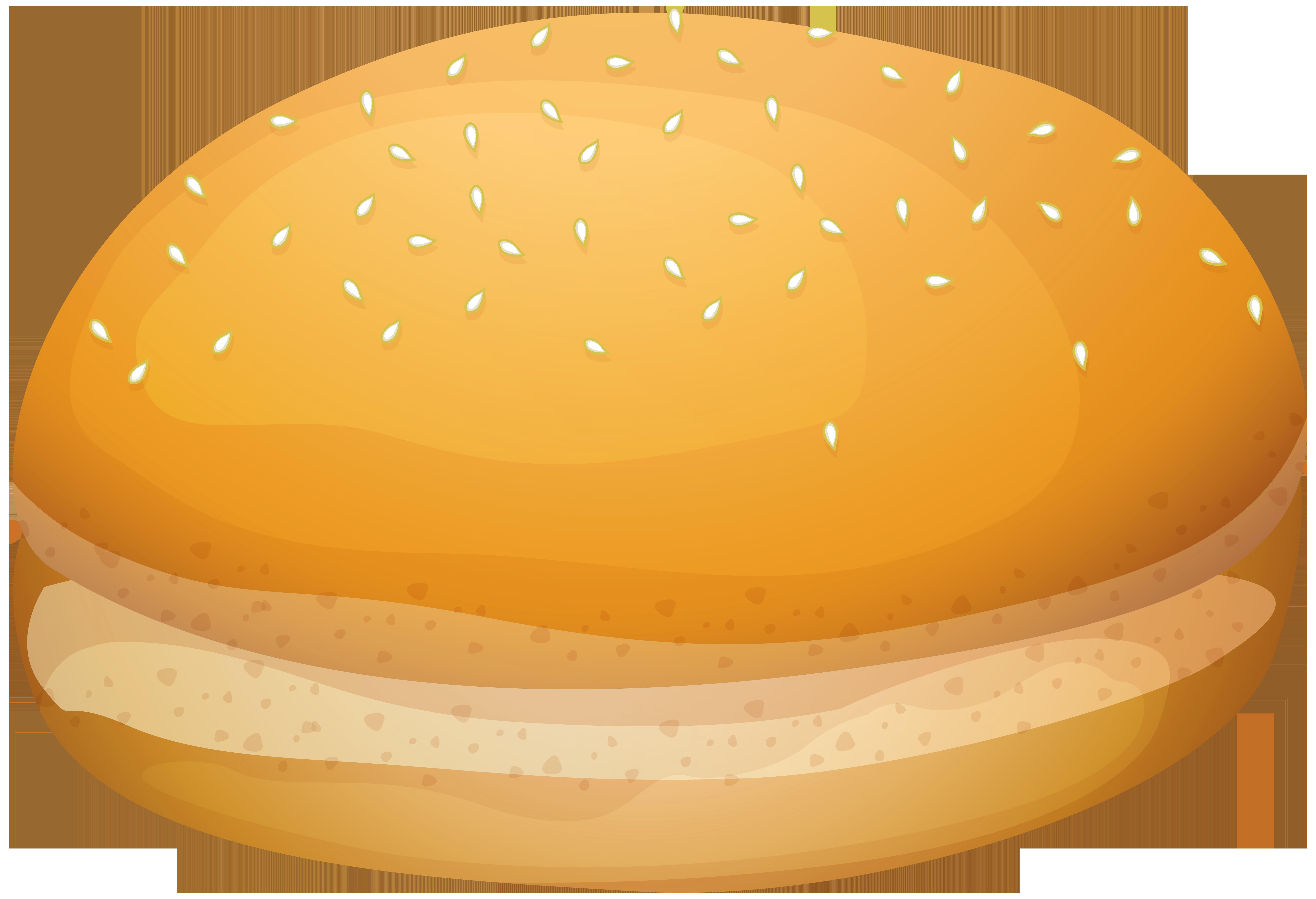 Burger Bread PNG Clip Art.