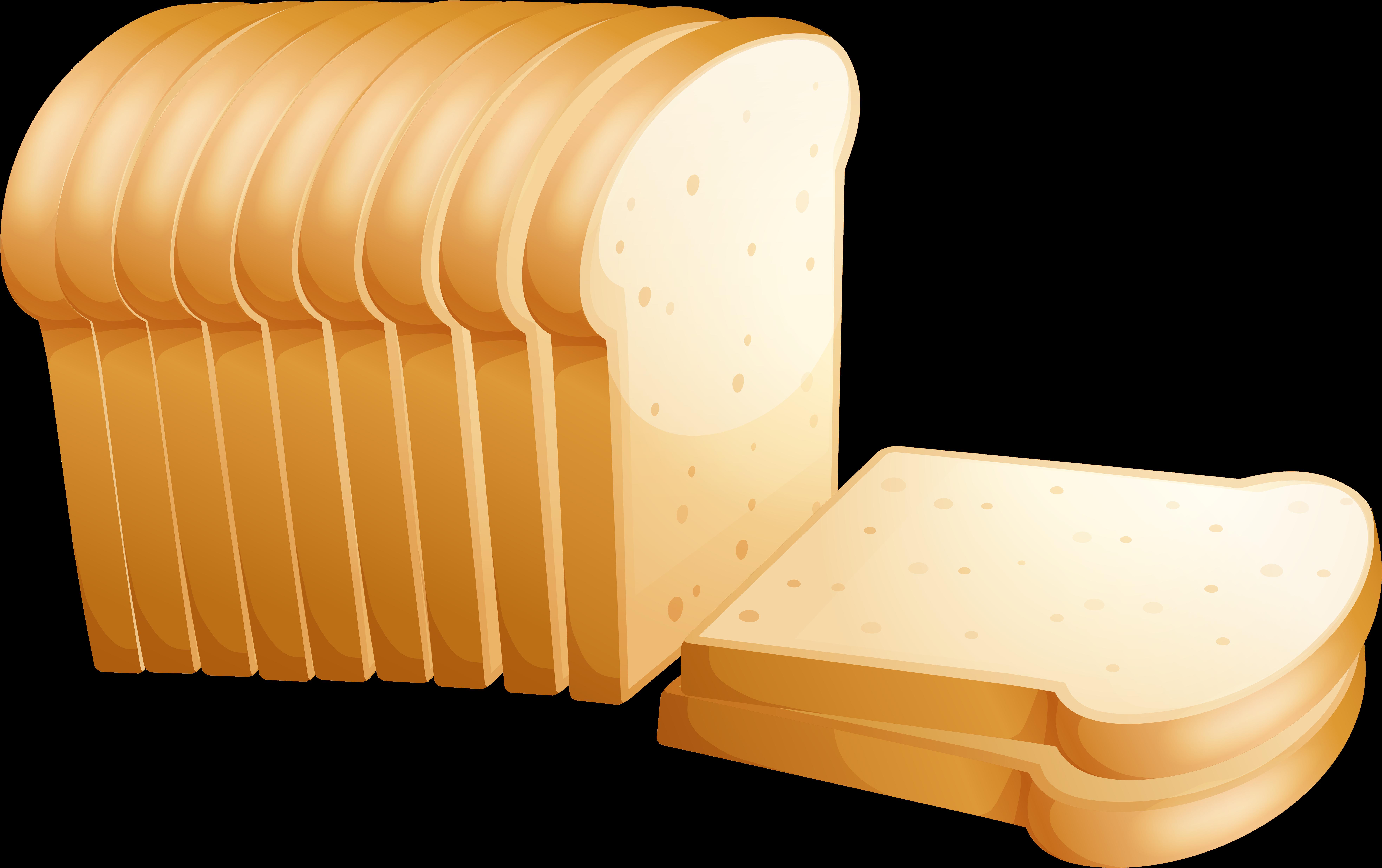 HD Toast Bread Png Clip Art.