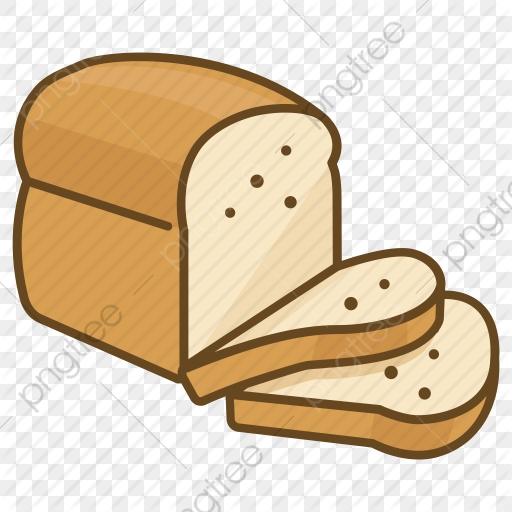 Cartoon Bread, Cartoon Clipart, Bread Clipart, Bread PNG Transparent.