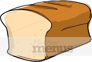 Bread Loaf Clipart.
