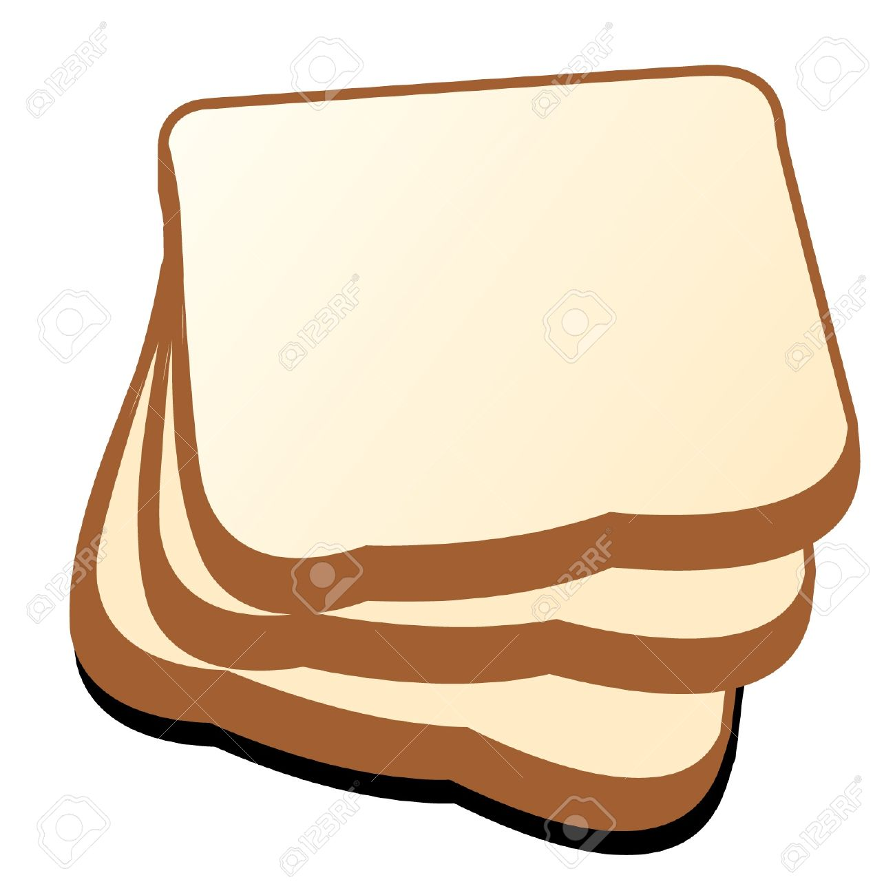 The Cut Loaf Of Bread Vector Royalty Free Cliparts, Vectors, And.
