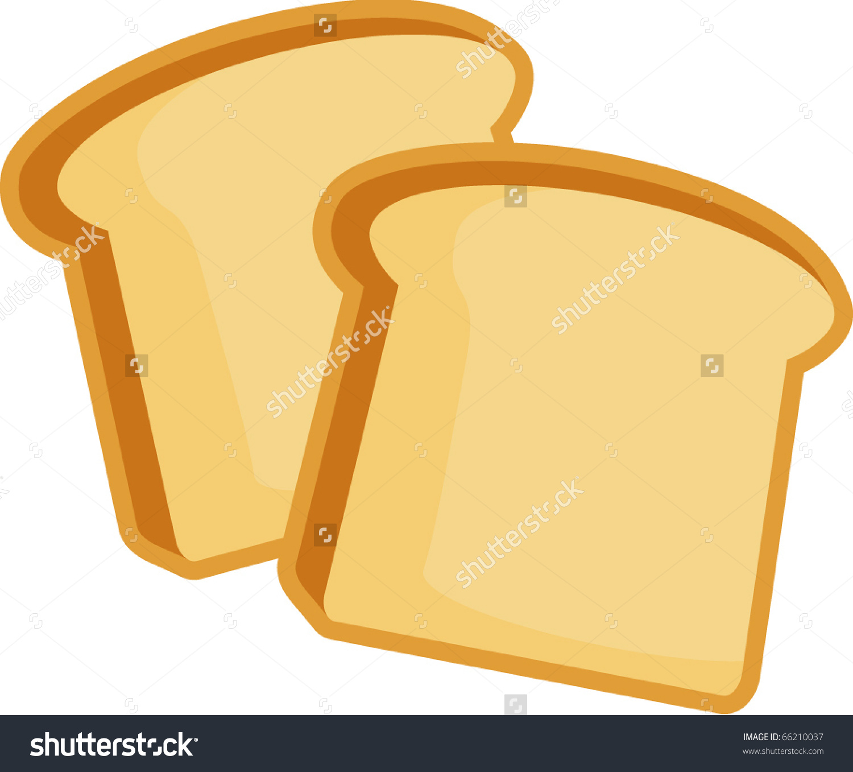 Toast bread clipart.