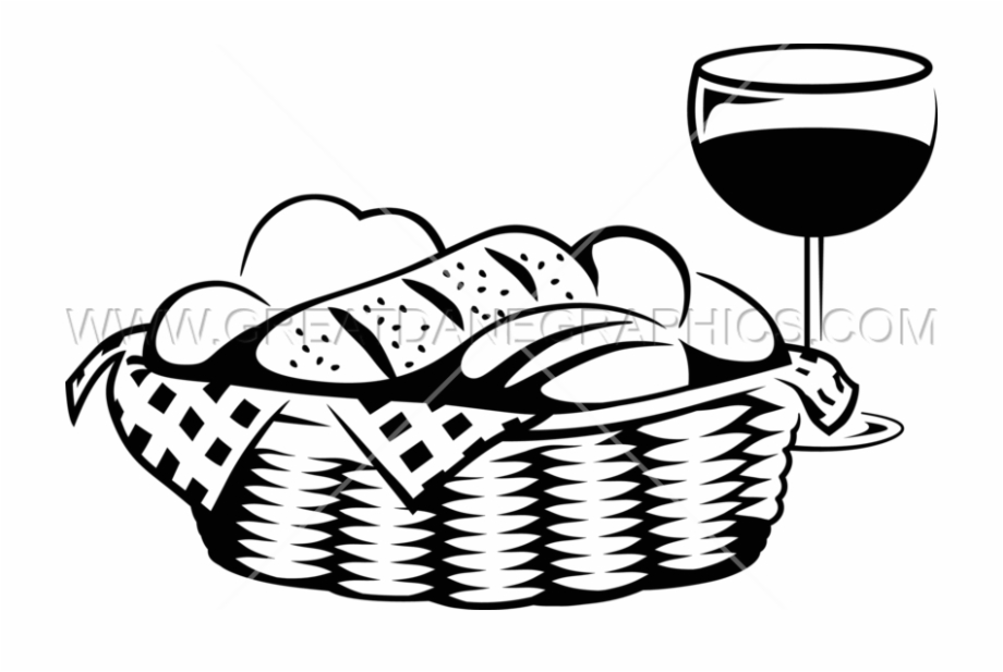 Basket Vector Bread.