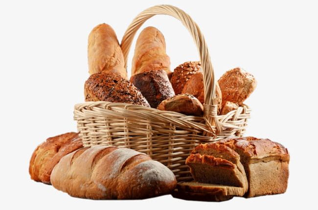 A Basket Of Bread PNG, Clipart, Basket, Basket Clipart, Bread, Bread.