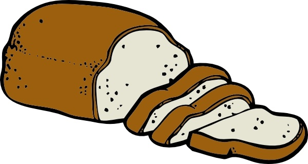 Loaf Of Bread clip art Free vector in Open office drawing svg ( .svg.