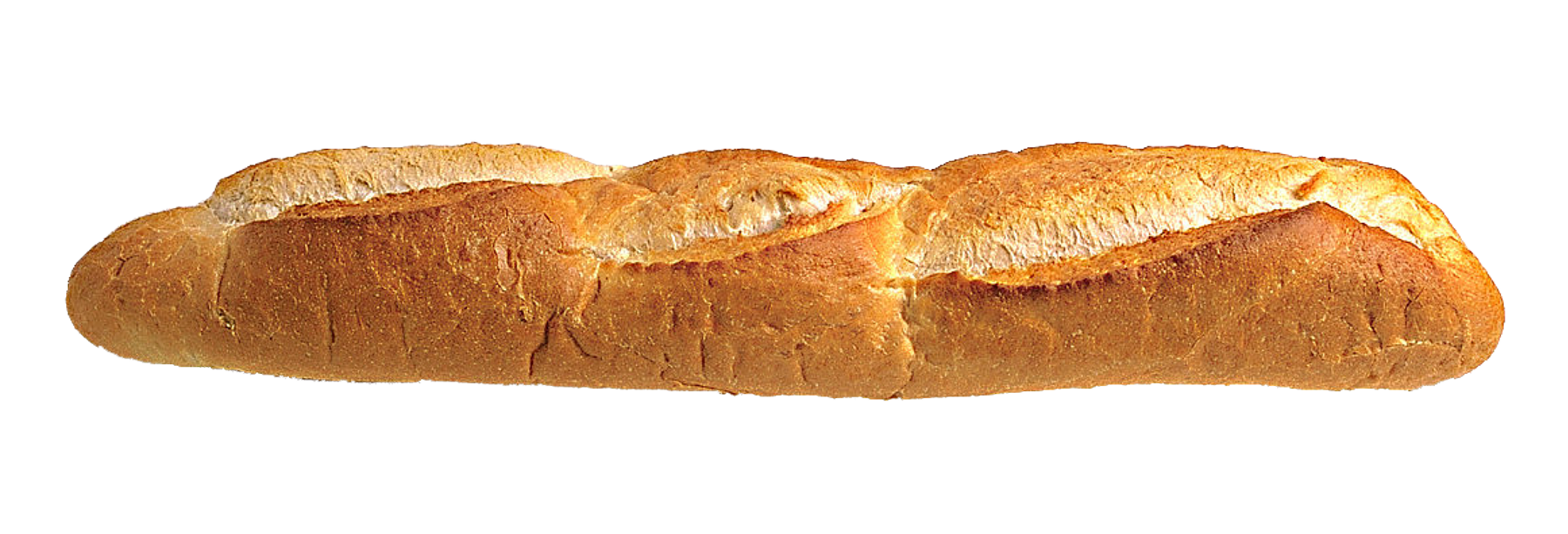 Long Loaf Bread PNG Transparent Image.