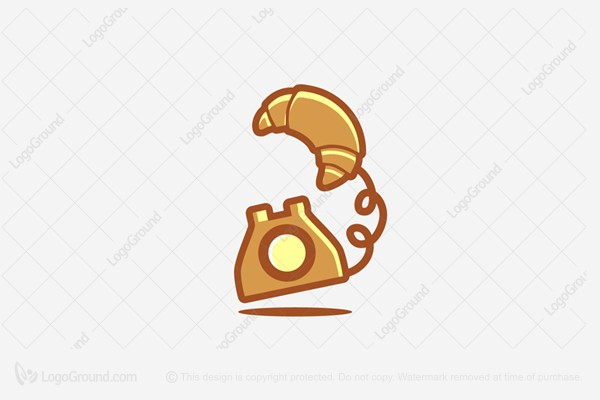 Exclusive Logo 112835, Phone Bread Logo.