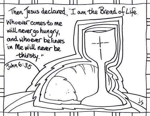 Bread of life clipart 5 » Clipart Station.