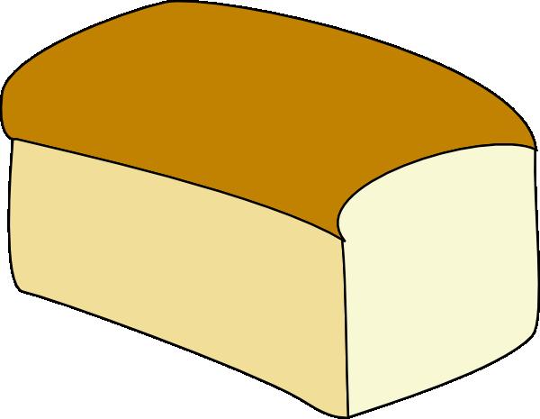 Loaf of Bread Outline.