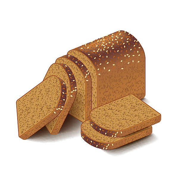 Best Whole Wheat Bread Illustrations, Royalty.