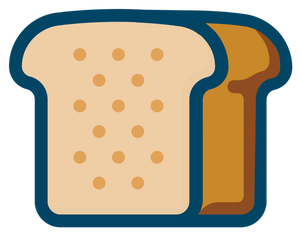 157 bread loaf clip art free.