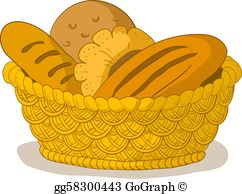 Bread Roll Clip Art.