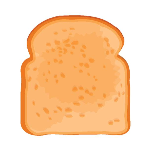 Best Bread Slice Illustrations, Royalty.